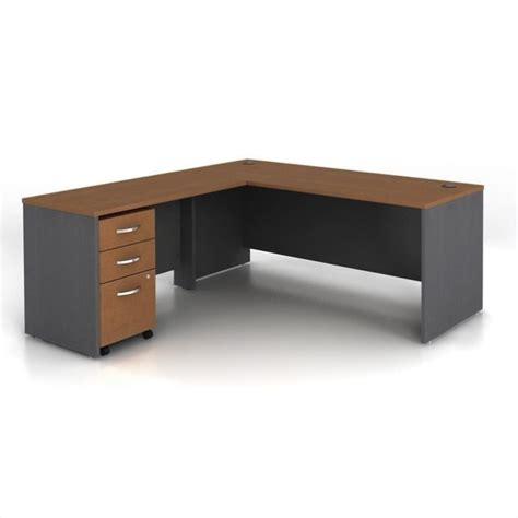 Computer Desk Maple Series C 3 L Shape Computer Desk In Auburn Maple Wc48536 Pkg1