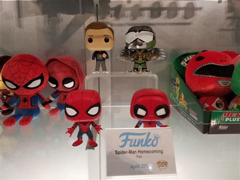 Funko Pop Marvel Spider Homecoming a fresh look at funko s new lines for 2017 including the