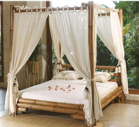 exotic canopy beds bedroom designs exotic bamboo mantra canopy bed white