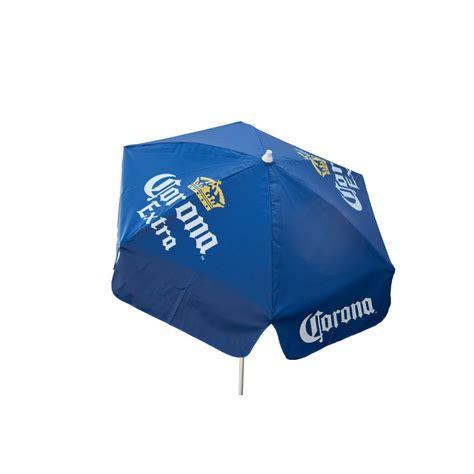 Corona Patio Umbrella Plantation Patterns 6 Ft Patio Umbrella In Seabreeze Tropical 9606 01221400 The Home Depot