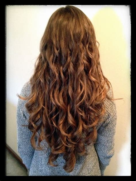 differnt methods of a spiral perm for long hair types of perms newhairstylesformen2014 com