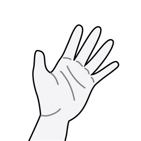 helping hands coloring pages - Helping Hands Coloring Page