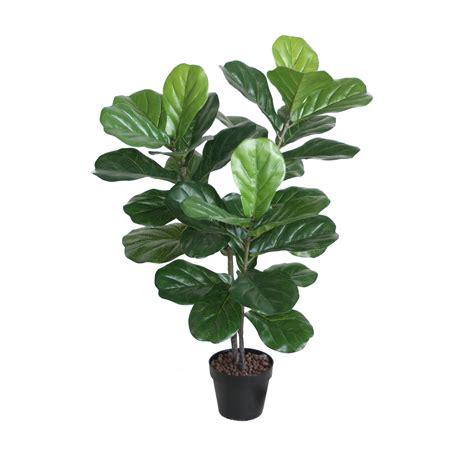 fiddle leaf fig artificial fiddle leaf fig tree 1m with 34 large leaves