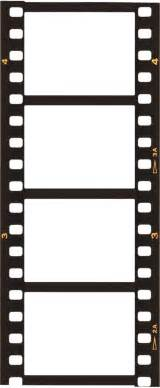 Filmstrip Template by Blank Templates Stencils