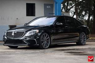 Mercedes Benze Mercedes W222 S63 Amg On Vossen Cvt Wheels Benztuning
