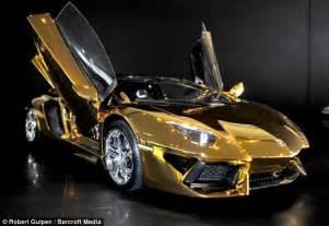 Gold Lamborghini Model Prototype Lamborghini Goes On Sale For 163 250 000