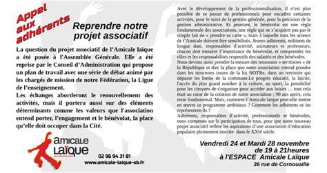 Présentation Lettre Amicale Allemand Le Projet De L Al En D 233 Bat Site De Amicale Laique Brieuc