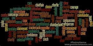 positive thesaurus positive words for you september 2014