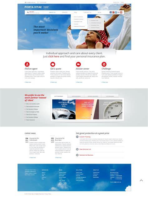 light cms templates light insurance joomla template 43600
