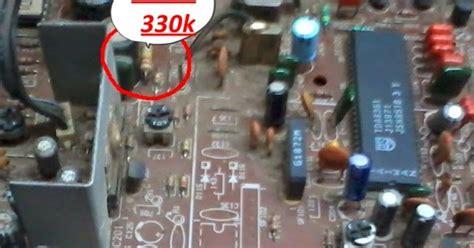 gambar transistor d1885 belajar tv tabung macam macam kerusakan tv polytron