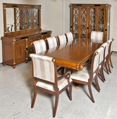 empire style dining room set mediterranean dining