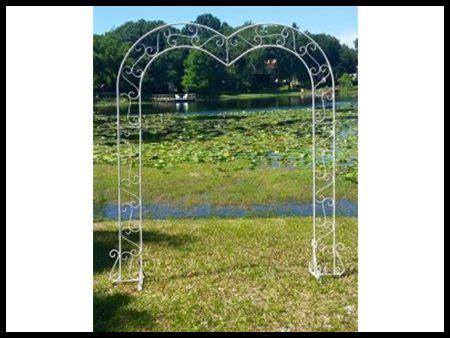 Wedding Arch Rental Michigan by Shape Arch Silver Symon Rental Downriver And