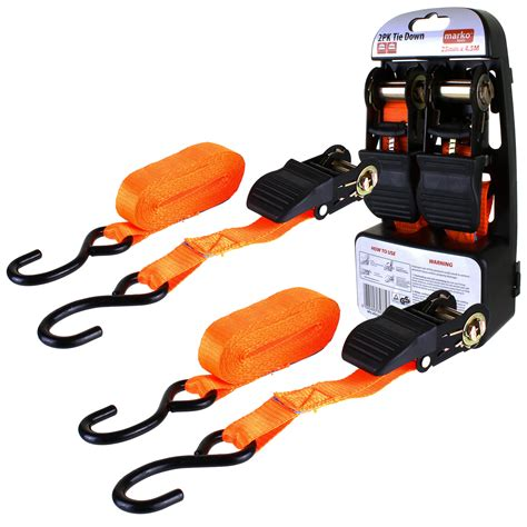 Roof Rack Ratchet Straps by Heavy Duty Ratchet Straps Tie Luggage Cargo Ton Tool