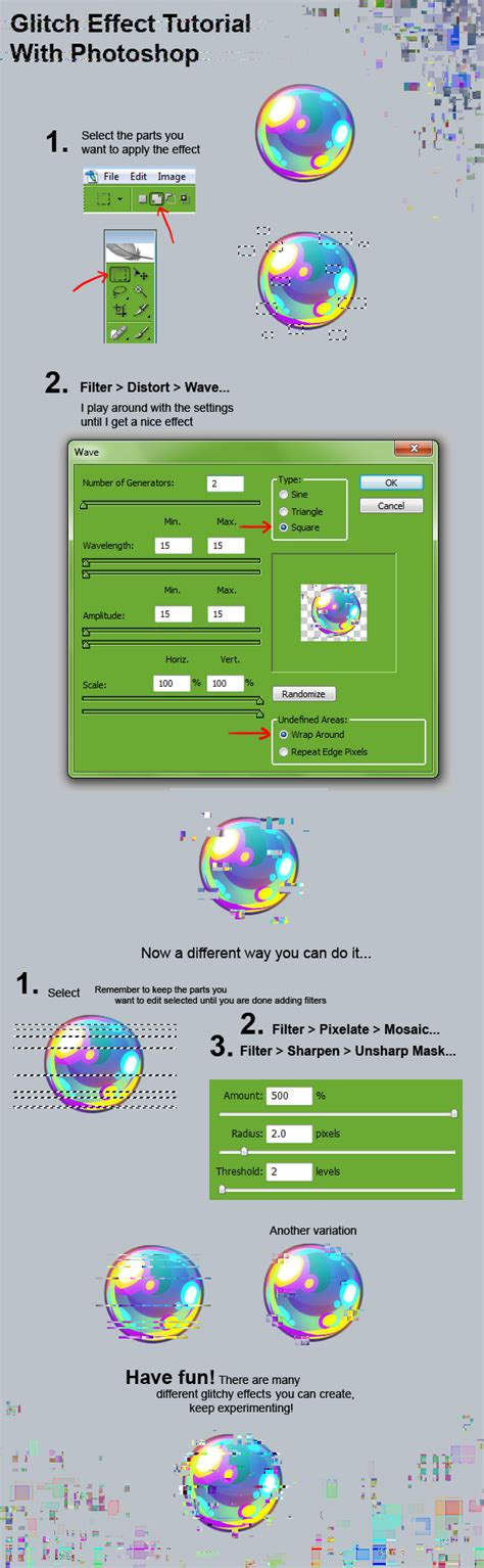 paint tool sai glitch tutorial glitch effect tutorial by kawiku on deviantart