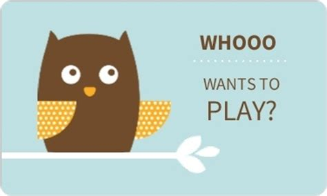 play date cards printable template blue and brown owl play date card back to school