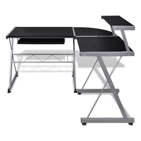 roll out computer desk computer desk workstation with pull out keyboard tray