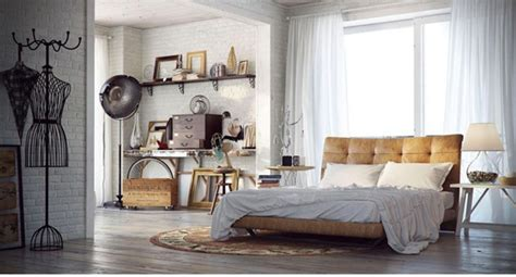 Interior Design Ideas Bedroom Vintage And Indusrtial Bedroom Design Ideas