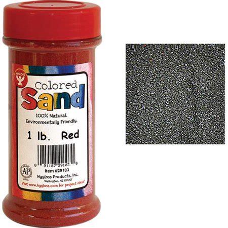 colored sand walmart hygloss colored sand 1 lb jar walmart