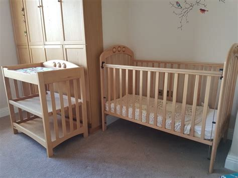 Cot With Changing Table Matching Cot And Changing Table For Sale In Kilkenny Kilkenny From Paulg Kk