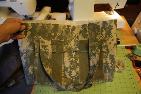 tote bag pattern from military uniform tote bag design tote bag patterns from military uniforms