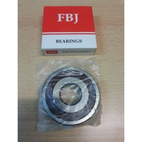 Bearing 6302 2rs Fbj 1 cuscinetto fbj 6306 25 2rs c3 cuscinetto 6306 2rs 25mmc3