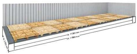 misure interne container 40 piedi pallet inka f76 container tutto per l imballo spa
