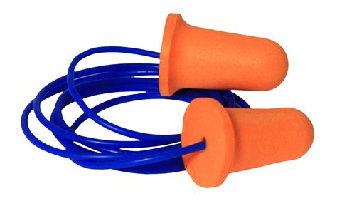 ear pug radians deviator fp81 uf foam ear plugs corded nrr 33 corded industrial foam