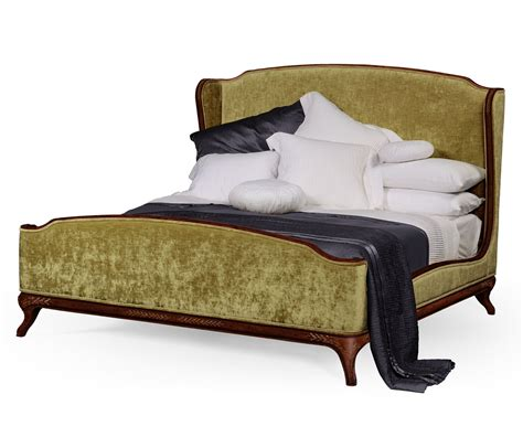 Charles Upholstery by Upholstered Bed Bed King Swanky Interiors