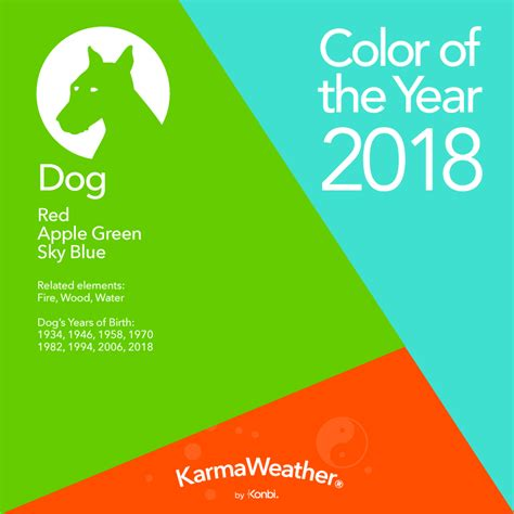 new year 2018 color feng shui 2018 lucky colors for 2018 year of the