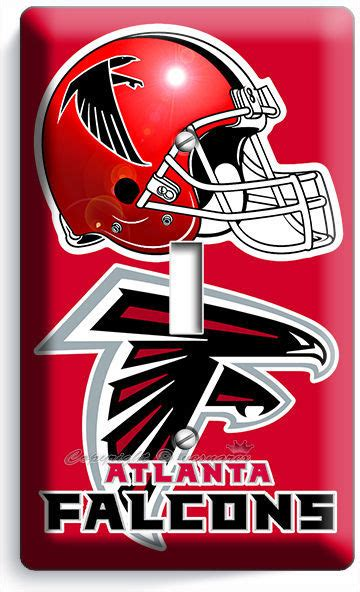 atlanta falcons light switch covers football nfl home decor outlet ebay atlanta falcons football team single light switch wall