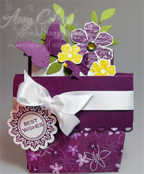 flower pot gift card holder template cottage wall designer series paper archives ust4fun