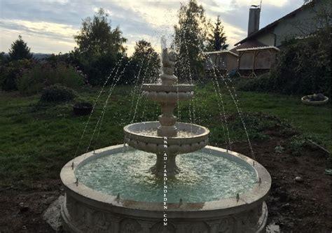 Fontaine D Eau De Jardin by Fontaine De Jardin Exterieur Annecy Jets D Eau A Au