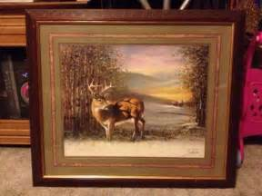 home interior deer picture ebay