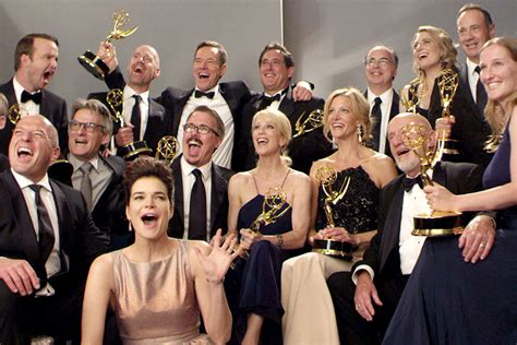 academy awards 2013 pictures videos breaking news cast and creators of breaking bad after their emmy win