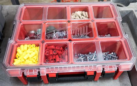 kicking  tires  milwaukees ball bearing tool storage combo