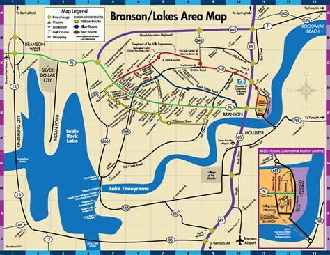 missouri map branson maps branson mo