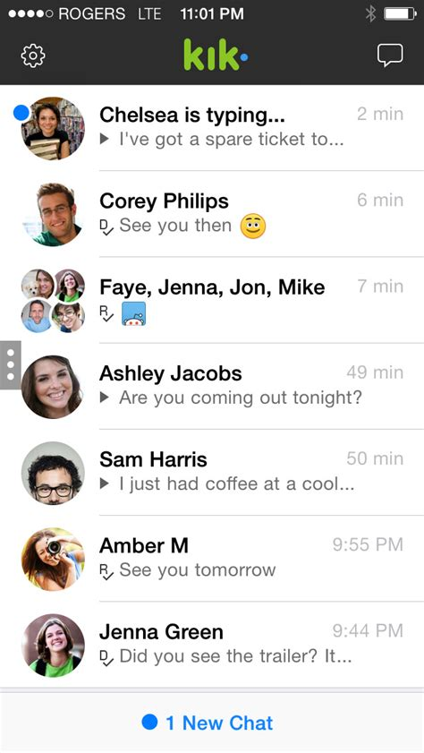 How To Find On Kik Without Their Username Kik Messenger App Is Updated With Ios 8 Compatibility Themed Smileys Iclarified