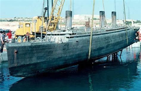 titanic film water tank raise the titanic and its 5 million replica liner den