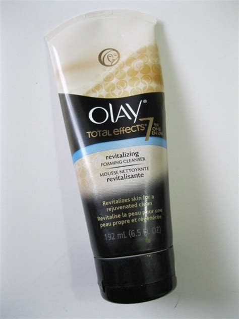 Olay Total Effects Foaming Cleanser olay total effects revitalizing foaming cleanser review
