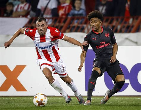 arsenal player ratings against red star belgrade sport reiss nelson arsenal player ratings against red star
