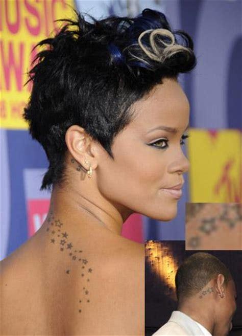 rihanna star tattoo design top 5 most popular international designs fashion