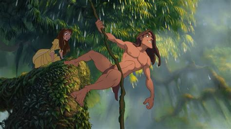 tarzan the jungle man swinging from a rubber band how to be a better human thanks to disney s tarzan