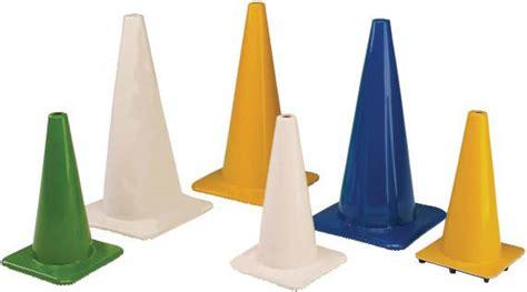 colored cones colored pvc cones
