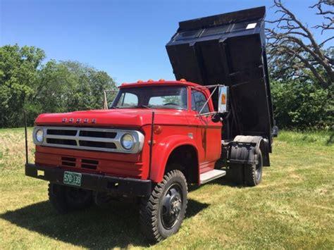 1972 dodge w600 4x4 dump truck power wagon hydraulic