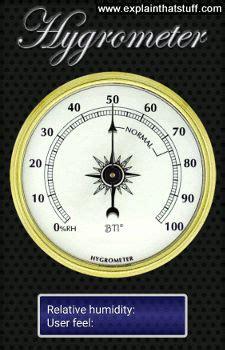 hygrometers work measuring humidity explain  stuff