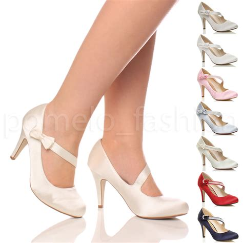 womens wedding heels womens bridal wedding prom high heel classic