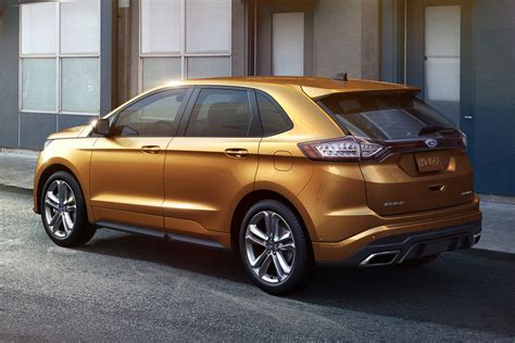 ford edge 2015 ford edge gets better looks and more tech for its
