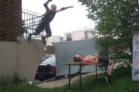 backyard wrestling 3 backyard wrestling 2 3 tables match swede savard c vs