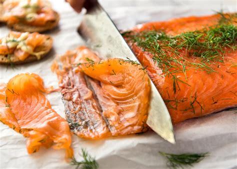 Shelf Of Salmon by Cured Salmon Gravlax Easy Recipetin Eats
