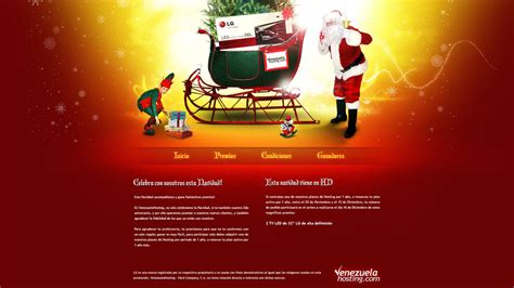 christmas website 1 by chekspir on deviantart